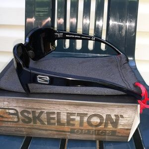 No Boundaries Accessories - Skeleton  Stampede  optics sunglasses